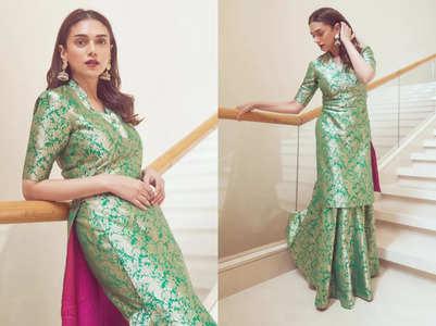 Aditi Rao Hydari's sharara is perfect for Eid