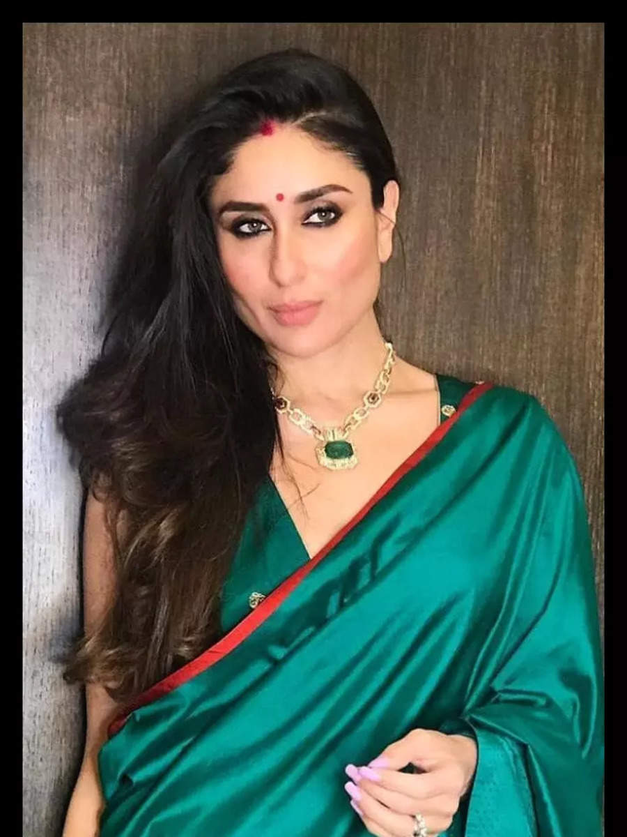 Celeb inspired Karwa Chauth outfits
