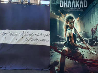 Dhaakad: Kangana to unveil special surprise
