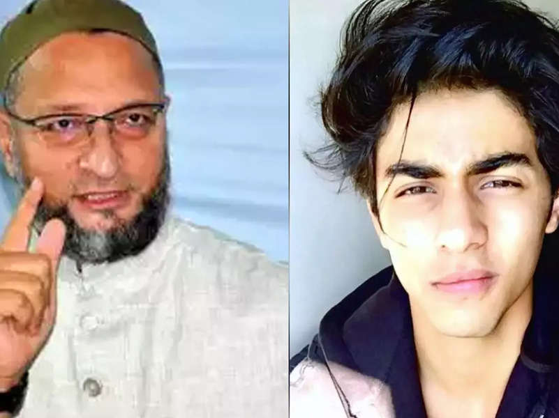 Aryan Khan's arrest: Asaduddin Owaisi says he won't speak for those whose fathers are powerful