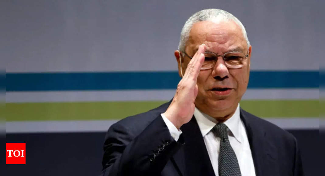 Ex- US secretary of state Colin Powell dies of Covid: Statement