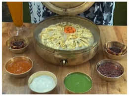 Huge 2kg Gold momos leaves netizens amazed