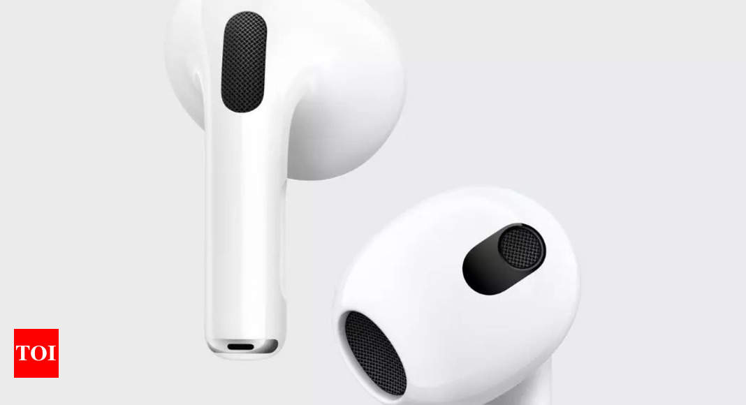 Apple AirPods 3 unveiled with new design, better battery life