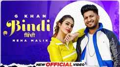 Punjabi Video Song: Latest Punjabi Song 'Bindi' Sung by G Khan Featuring Neha Malik