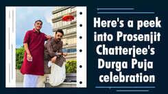 Here's a peek into Prosenjit Chatterjee's Durga Puja celebration