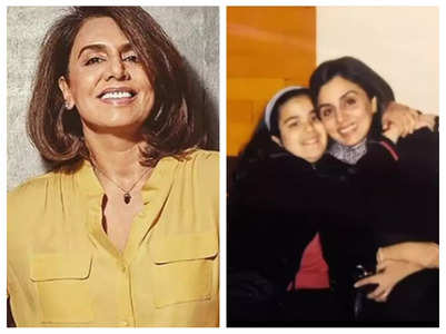Neetu reacts to Sanjay Dutt's daughter's pic