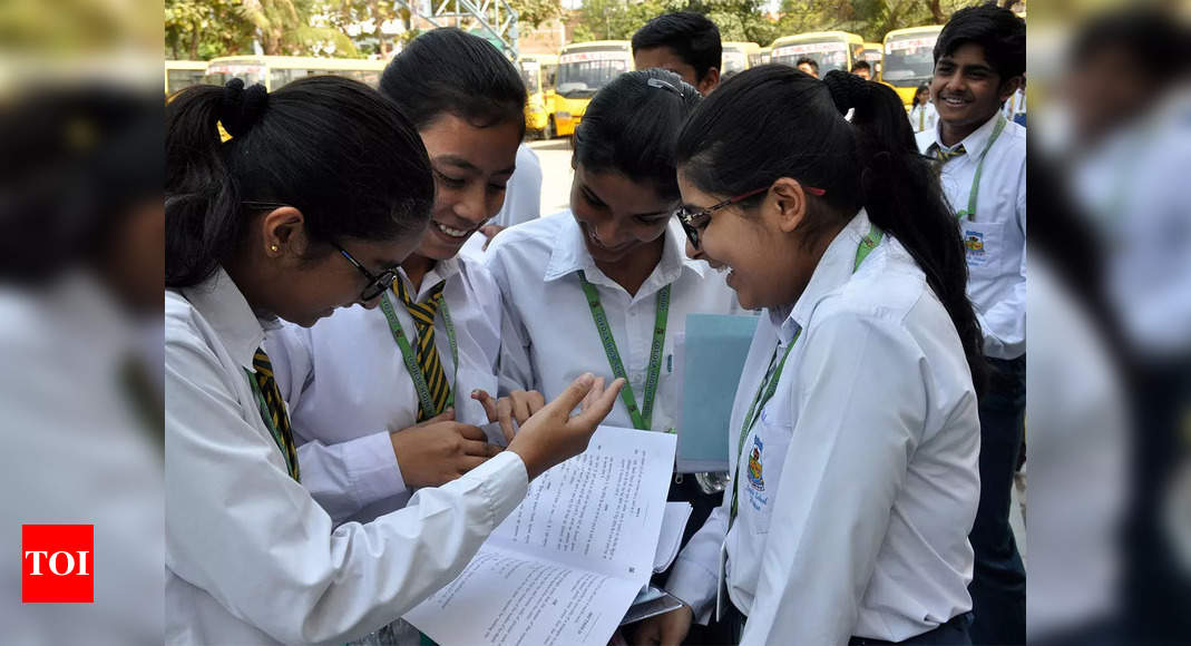 'CBSE follows NEP recommendations to improve students' performance' – Times of India