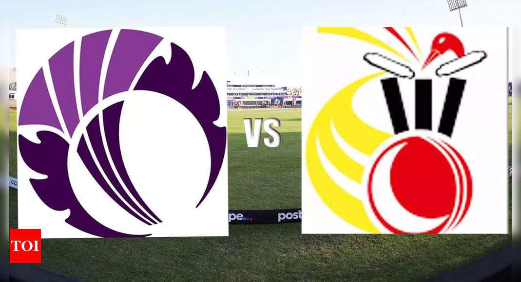 T20 WC Live Score: Buoyed Scotland take on PNG