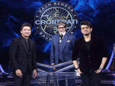Sonu Nigam-Shaan to appear on KBC 13