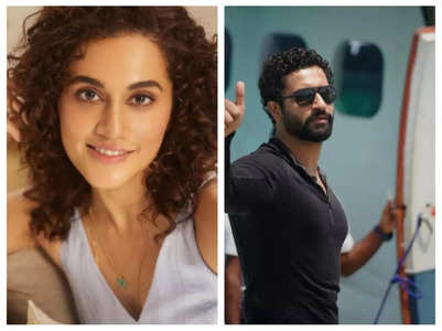 Taapsee on relationship with Vicky Kaushal