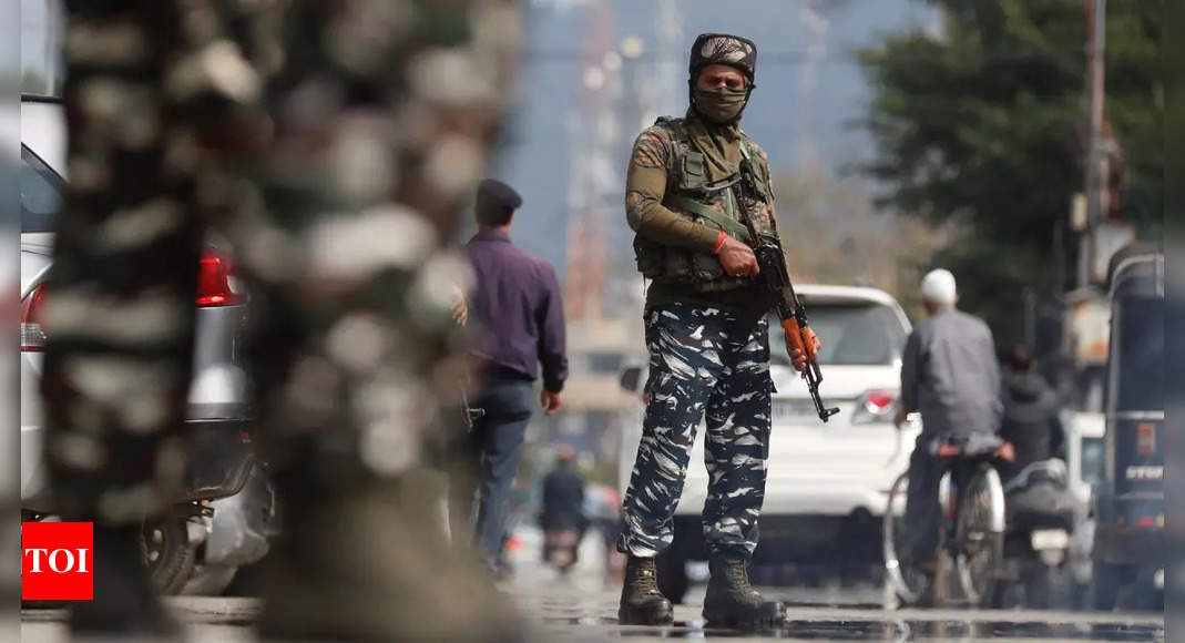 CRPF on alert, performing round-the-clock duty to ensure safety in J&K