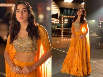 Sara Ali Khan just wore the prettiest yellow sharara