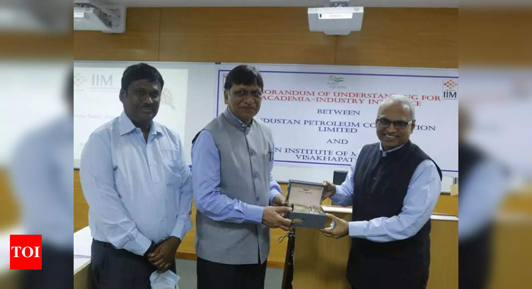 IIM-Vizag, HPCL join hands for joint research, academic programmes