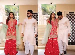 Watch: Sargun Mehta and Ravi Dubey's latest Insta reel is #couplegoals