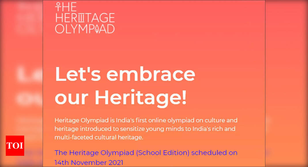 IIT-Kanpur to launch 2nd edition of Heritage Olympiad on Nov 14 – Times of India