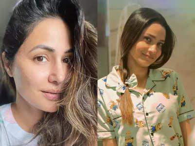 TV celebs' no makeup look