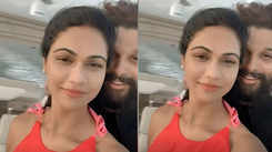 'Allu' ring couple all the way: Allu Arjun and wife Sneha Reddy enjoying a picture-perfect vacation