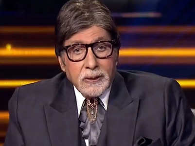 Big B's revelation about his name Amitabh