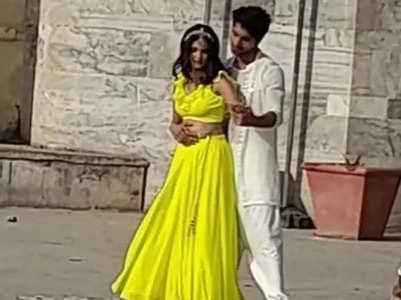 Harshad, Pranali start shooting for Yeh Rishta