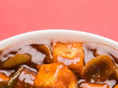 Chinese-style Chilli Paneer recipe