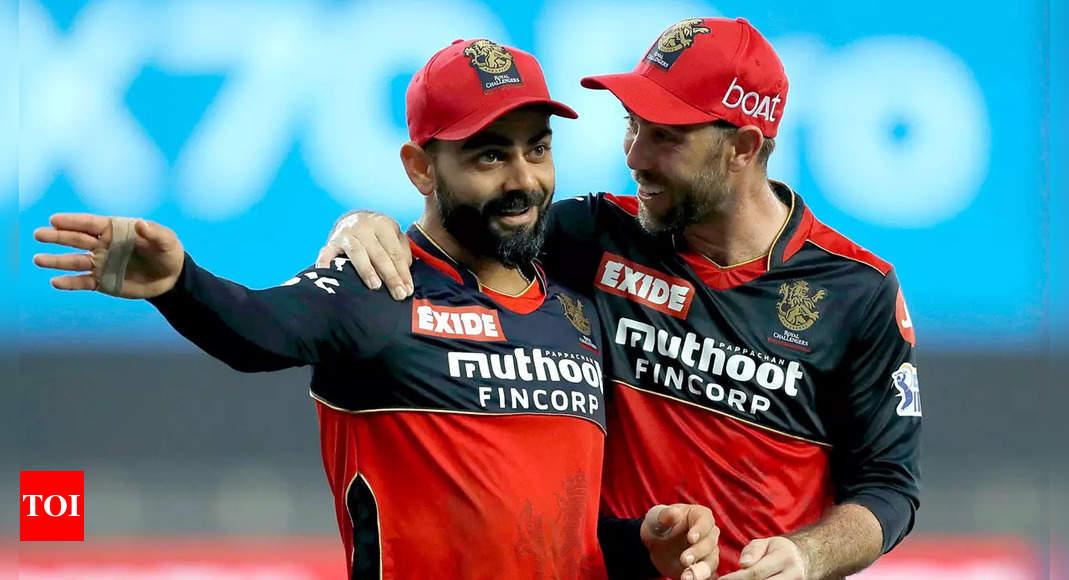 Glenn Maxwell credits IPL teammates Virat Kohli, AB de Villiers for success | Cricket News – Times of India
