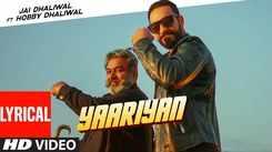 Check Out Latest Punjabi Song Music Video Lyrical  - 'Yaariyan' Sung By Jai Dhaliwal