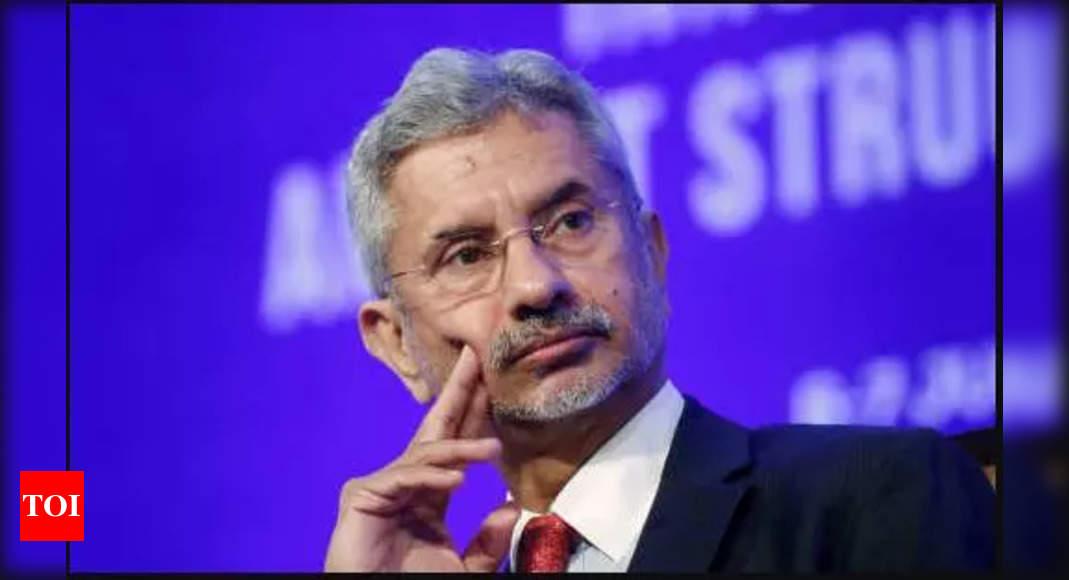 jaishankar:   Jaishankar calls on Israeli President, PM; discusses bilateral relations | India News – Times of India