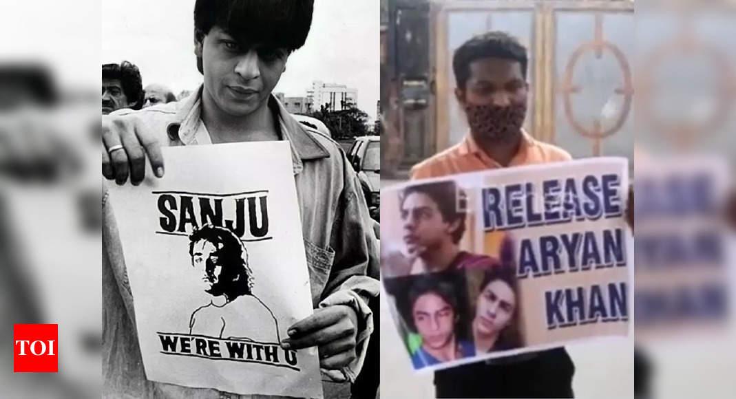Aryan Khan denied bail in drug case: Old photos of Shah Rukh Khan, Salman Khan, Akshay Kumar standing in solidarity with Sanjay Dutt resurfaces – Times of India ►