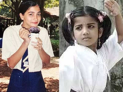 RARE childhood pictures of South actresses