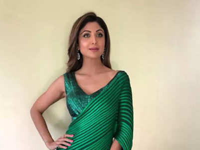 Take a look at Shilpa's festive wardrobe
