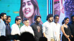 Allu Arjun attends the success meet of Akhil Akkineni and Pooja Hegde's Most Eligible Bachelor