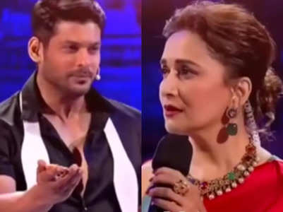 Madhuri's video features Sidharth; watch