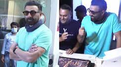 Sunny Deol celebrates 65th birthday, cuts 'Gadar 2' special cake