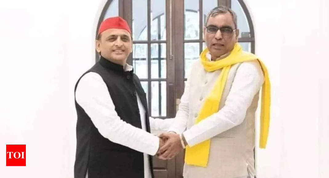 OP Rajbhar meets Akhilesh, says SP and SBSP set to seal poll alliance