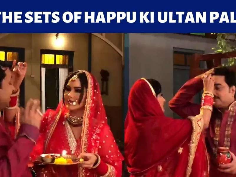 Karwa Chauth sequence in Happu Ki Ultan Paltan's upcoming episodes
