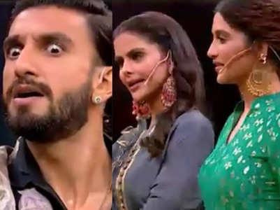 Ranveer Singh enacts television dialogues