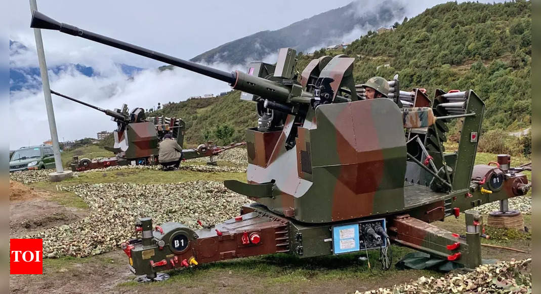 Army 'well-poised to hold the line' against China in Arunachal