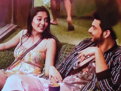 BB15: Tejasswi and Karan bond in the house
