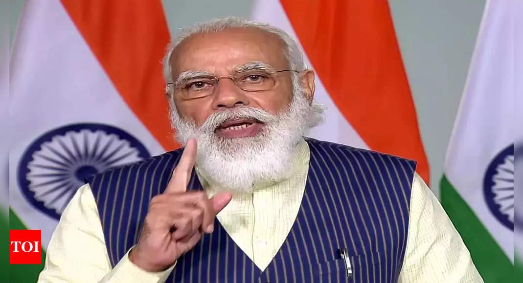 modi: Amid global energy crisis, Modi invites CEOs to be partners in India's energy goal | India News – Times of India