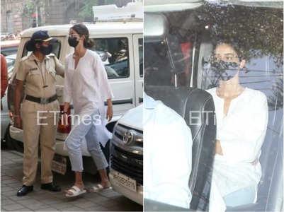 Shah Rukh Khan's son Aryan Khan drug case: Ananya Panday arrives at the NCB office