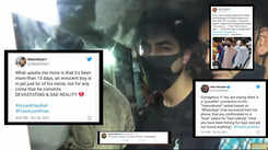 Bollywood celebrities, netizens react strongly after Shah Rukh Khan's son Aryan Khan's bail gets rejected yet again
