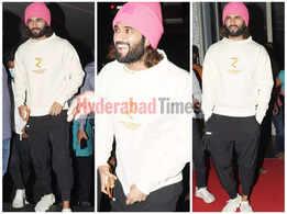 Vijay Deverakonda gives a masterclass on how to pull off a pink beanie