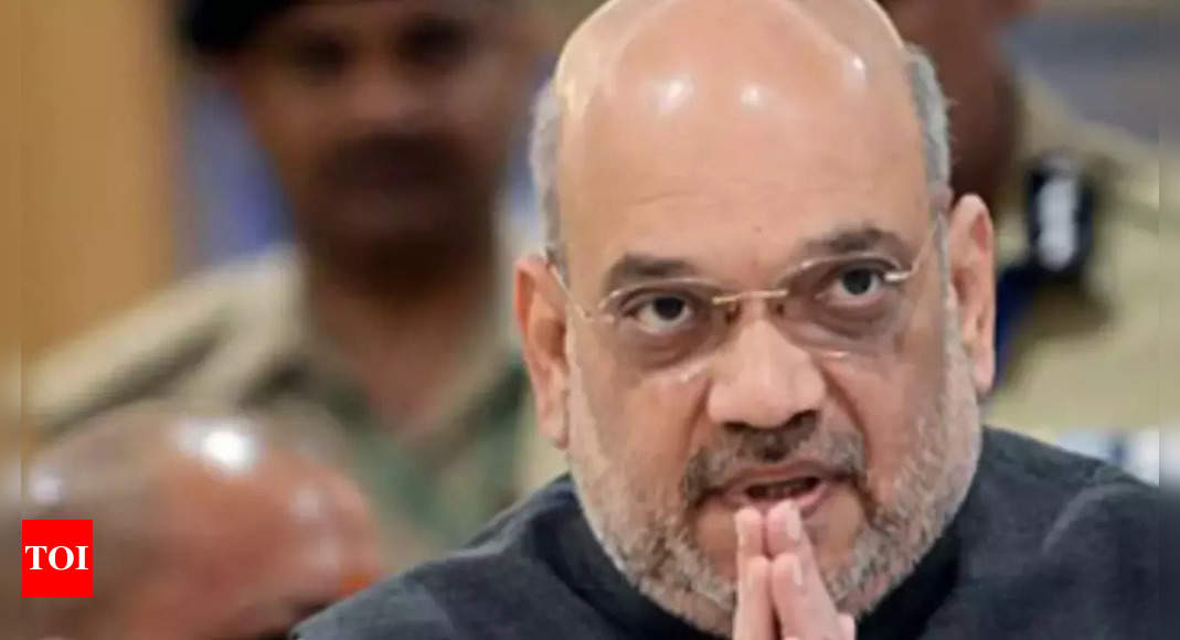 Union home minister Amit Shah conducts aerial survey of rain-ravaged areas of Uttarakhand; relief, rescue operations continue