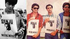 As Aryan Khan yet again denied bail in drugs case, old photos of Shah Rukh Khan, Salman Khan, Ajay Devgn, Akshay Kumar standing in solidarity with Sanjay Dutt resurfaces