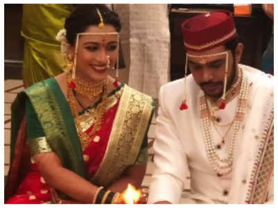 Suyash Tilak-Aayushi Bhave tie the knot