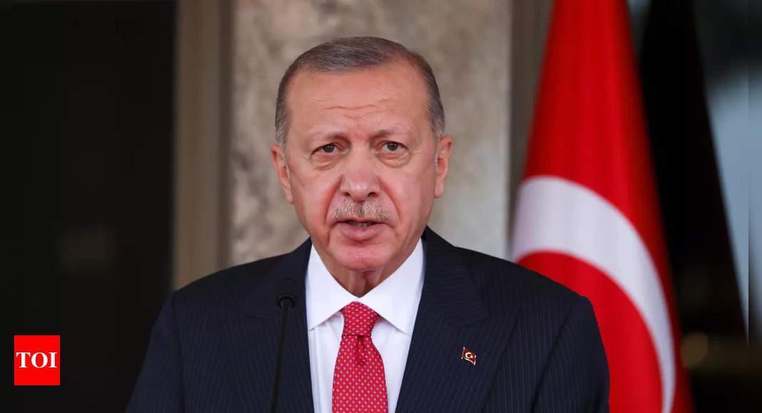 Turkey's Tayyip Erdogan blasts ambassadors' call for philanthropist's release – Times of India