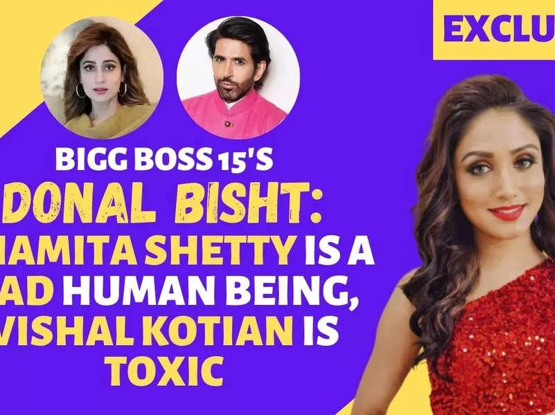 Bigg Boss 15's Donal Bisht: Vishal Kotian is toxic and manipulative
