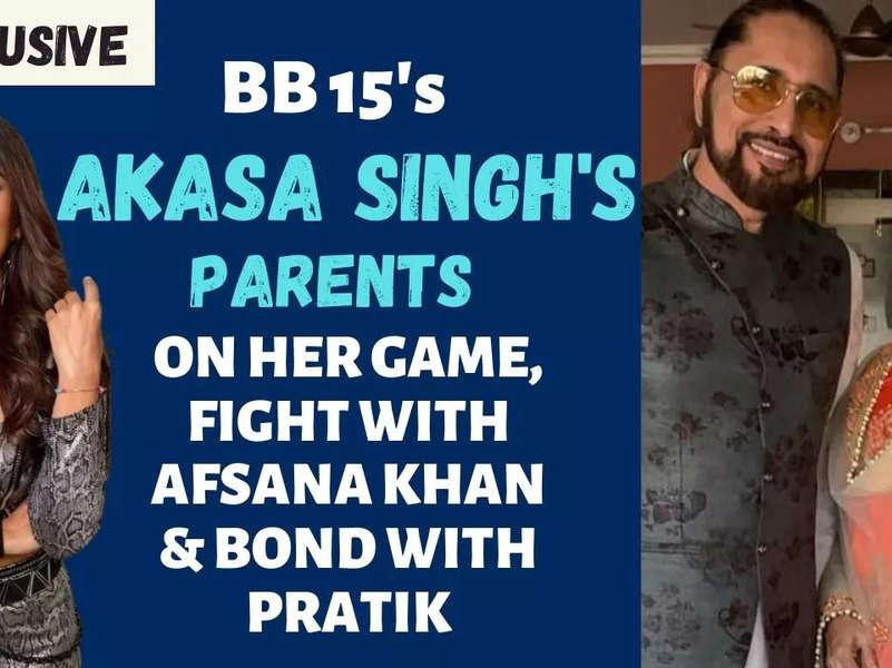 Bigg Boss 15's Akasa Singh's parents: My daughter's bond with Pratik Sehajpal is not like Miesha-Ieshaan