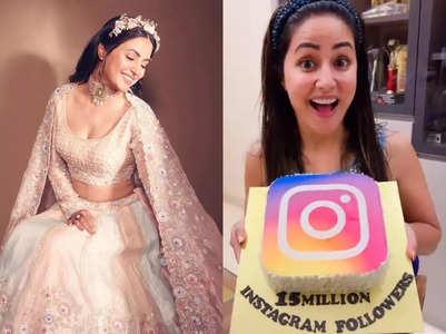 Hina Khan crosses 15M followers on Instagram