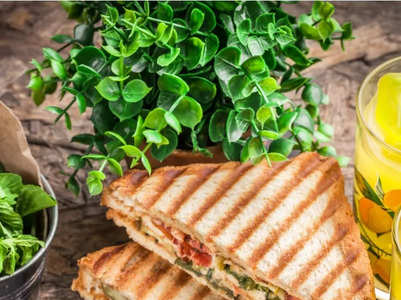 Mumbai-style Masala Toast Sandwich recipe